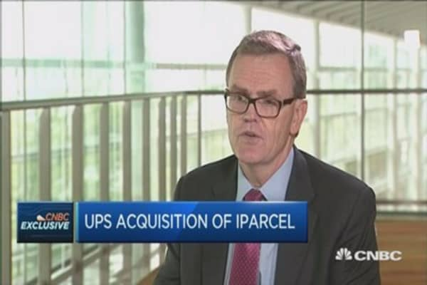 Where UPS sees opportunities in China