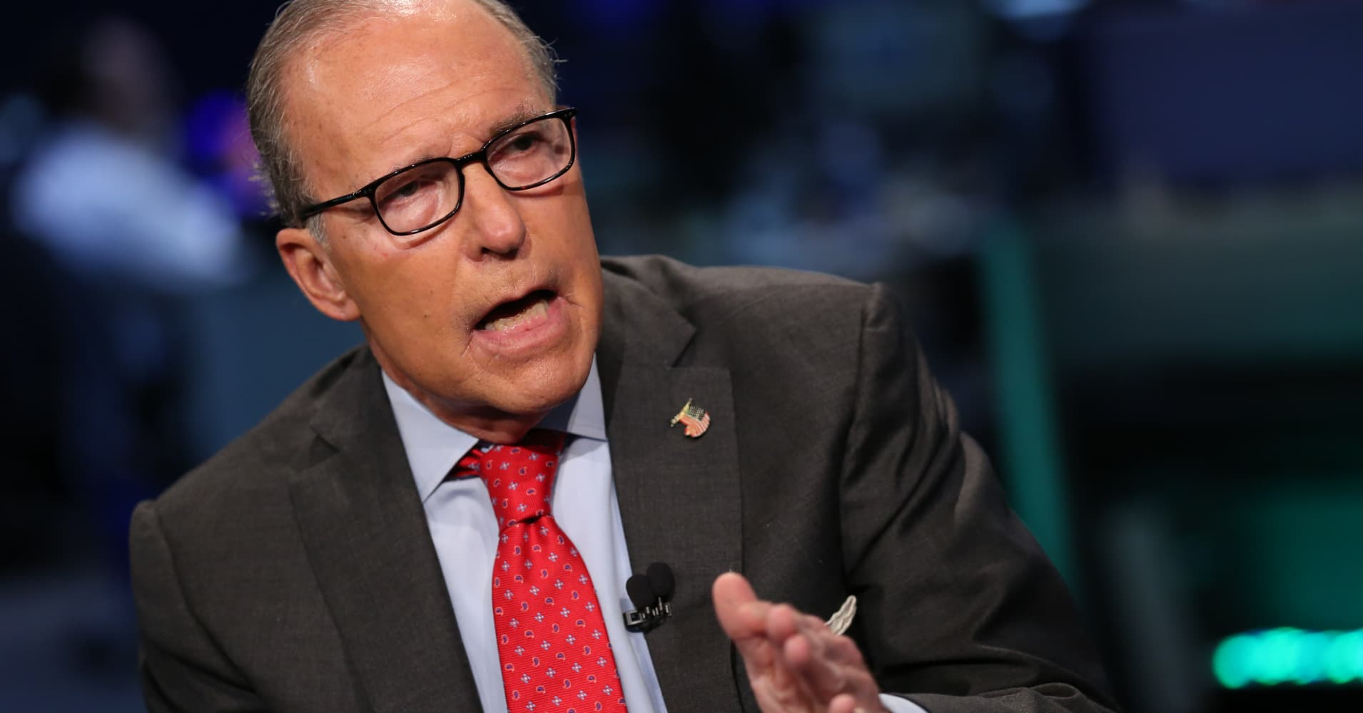 REPORT KUDLOW JOINING WHITE HOUSE