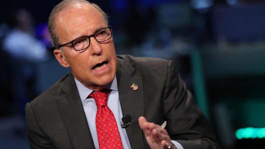 Trump to name Larry Kudlow to replace Gary Cohn