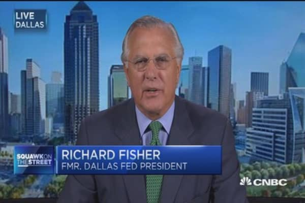 Richard Fisher: Never seen this much confusion