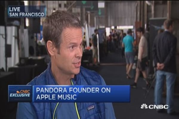 Pandora not impacted by Apple Music: Westergren