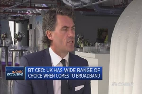 BT CEO confident EE bid will be approved
