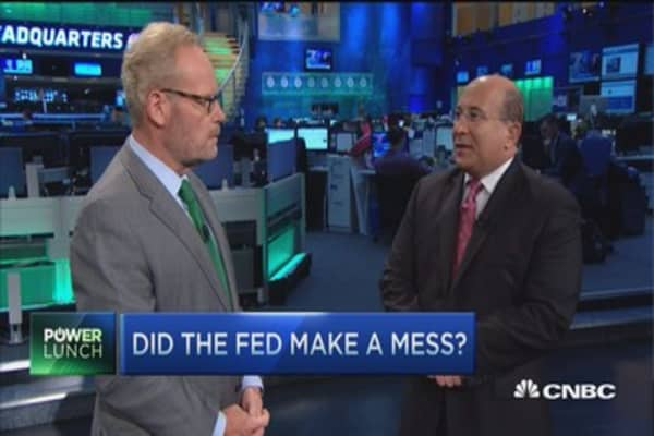 The Fed's mixed messages: Insana