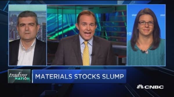 Trading Nation: Materials hit