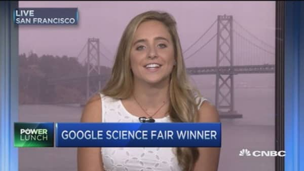 Google Science Fair's grand prize winner
