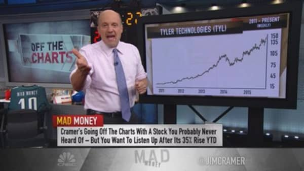 Cramer: This stock could turn on a dime