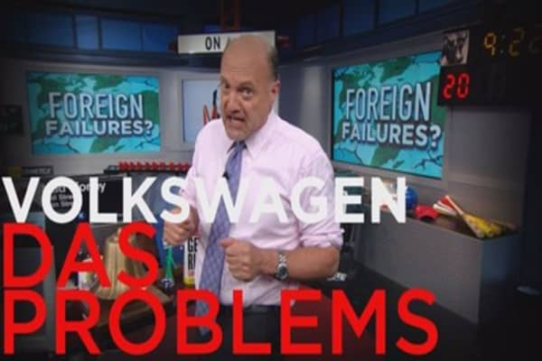 Cramer's prediction for Volkswagen