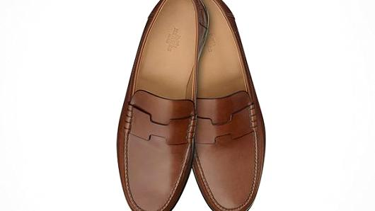 Hermes Paris men's shoes.