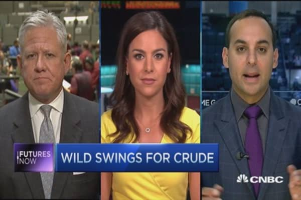 Crude's slide about more than just inventories?