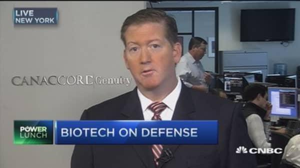 Biotech on its heels