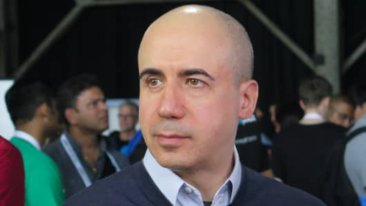 Yuri Milner, co-founder of Mail.ru Group.