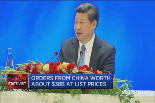 Xi Jinping reassures US business leaders