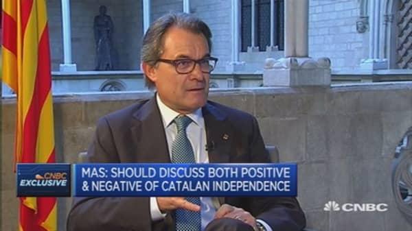 Catalonia an important financial market: Catalan President