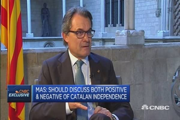 Catalonia an important financial market: Catalan President