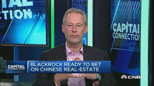 BlackRock sees opportunities in China property