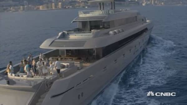 This is one of the fastest super yachts