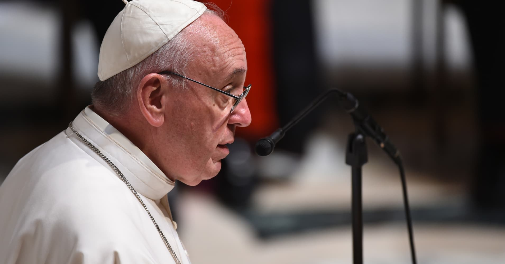 Pope Francis warns the world is at the brink of nuclear war
