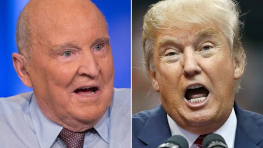 Jack Welch and Donald Trump