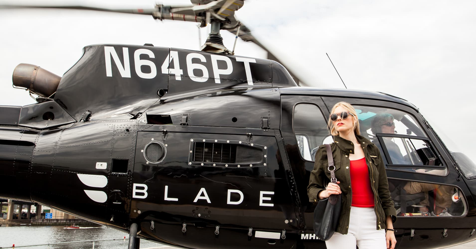 The race between Lyft, Uber Copter, Blade helicopter to JFK