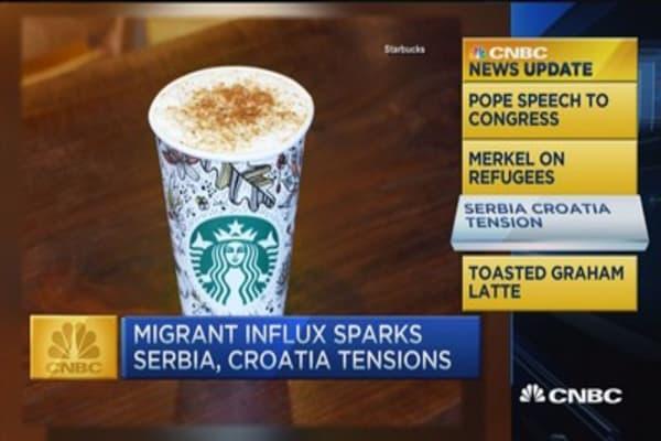 CNBC update: New Starbucks flavor
