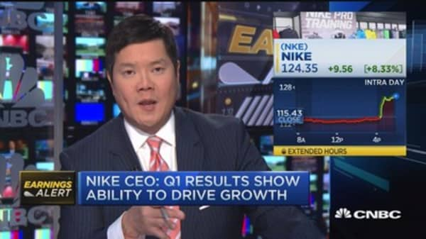 Nike CEO: Innovation creates separation