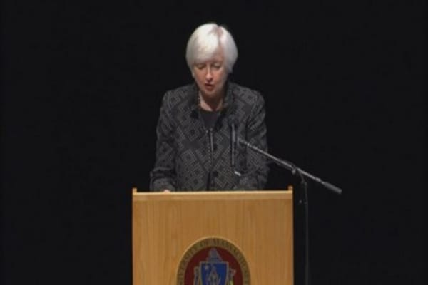 Inflation much more stable than it used to be: Yellen