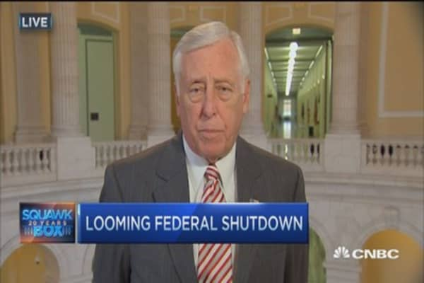 Rep. Hoyer: Don't think there will be a shutdown