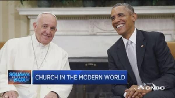 Pope appeals to best in America: Rev. John Jenkins