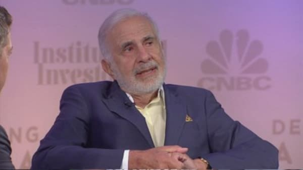 Carl Icahn is launching a new web site