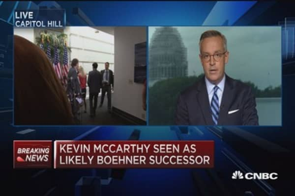 Kevin McCarthy shoe-in: Member of Congress