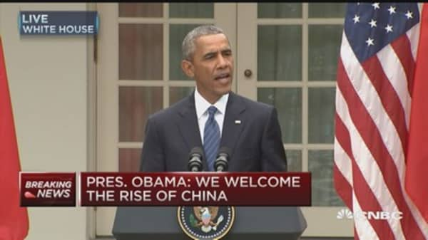 Obama: Progress with China on cyber threats
