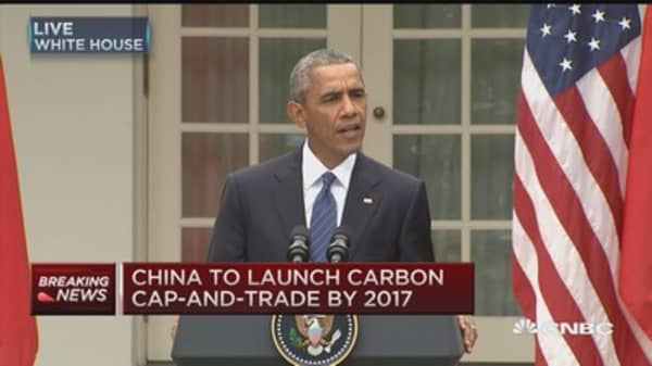Obama: US, China commit to climate change