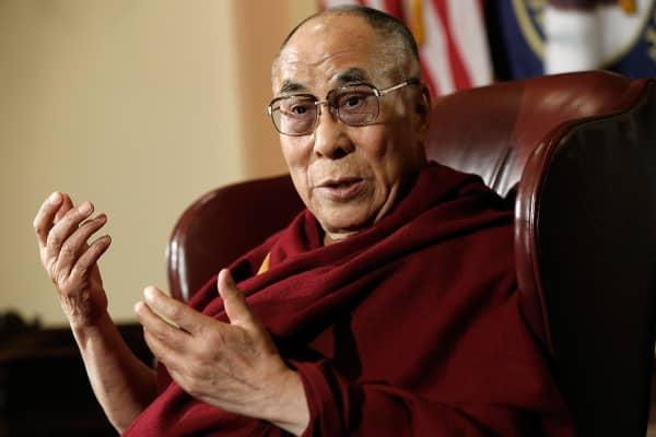 The Dalai Lama.