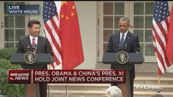 President Obama: Candid conversations with China president