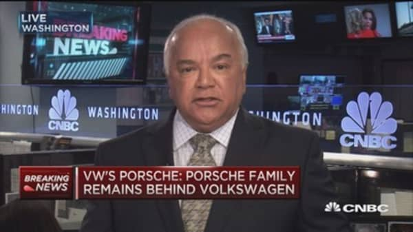 VW's Porsche: Muller right person to lead