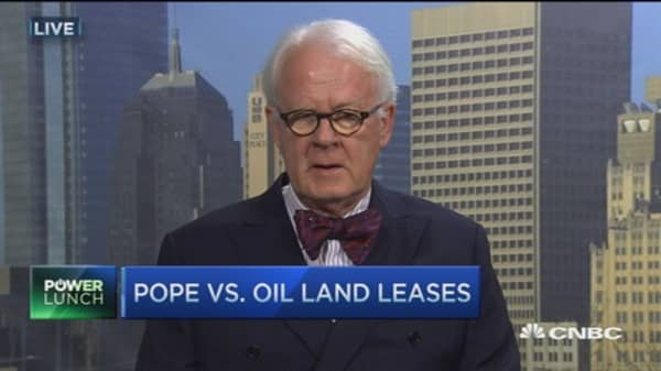 Climate change, the pope & American oil