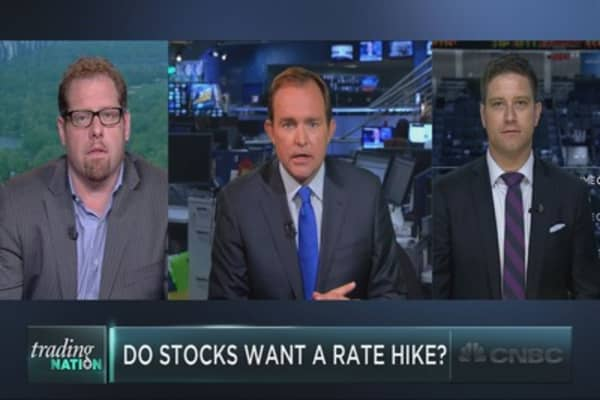 Is the market rooting for a rate hike?