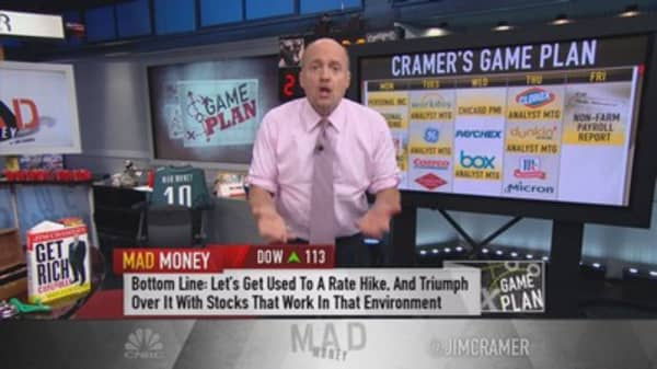 Cramer game plan: Rate hike coming. How to play it