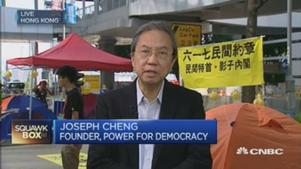 HK's democracy movement isn't dead, yet