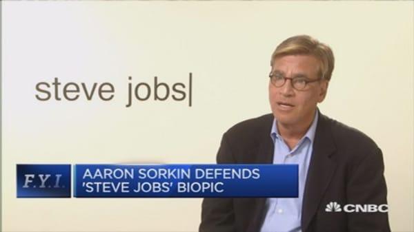 'Steve Jobs' film is not opportunistic: Sorkin