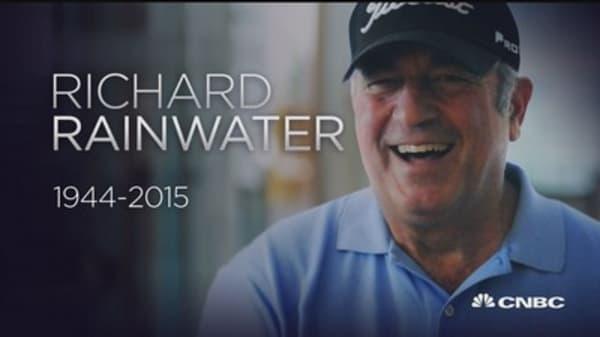 Richard Rainwater dead at age 71