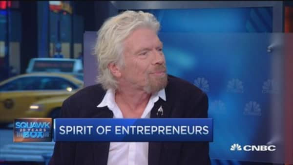 Spotting a great entrepreneur: Branson