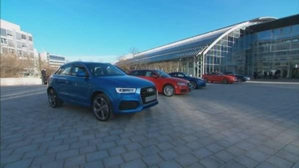 Audi affected by Volkswagen scandal
