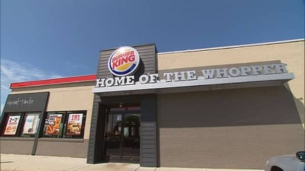 Burger King announces the