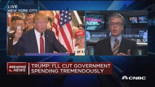 Donald Trump's tax reduction plan