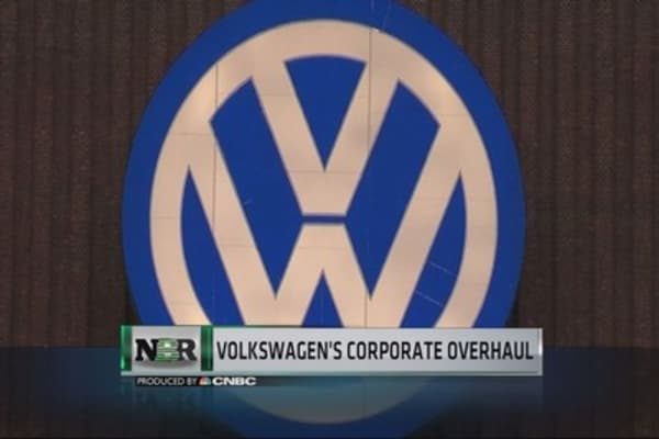 Volkswagen's corporate overhaul