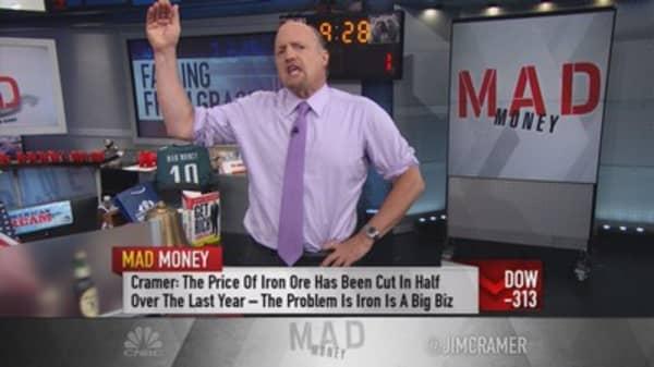 Cramer: 5 worries driving the market lower