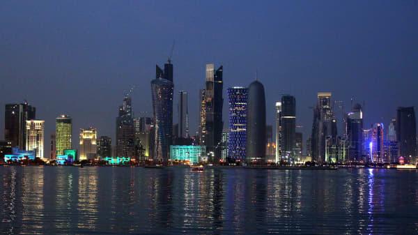 View of Doha's skyline