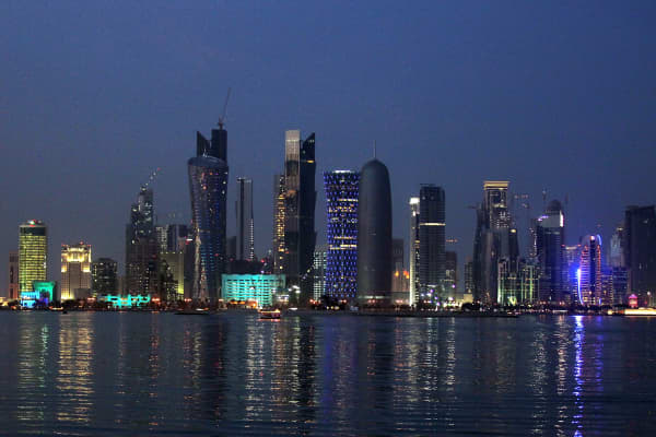 View of Doha's skyline