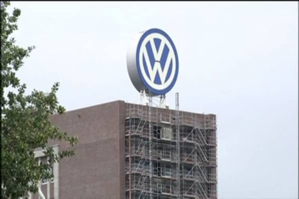 Dow Jones sustainable index drops Volkswagen